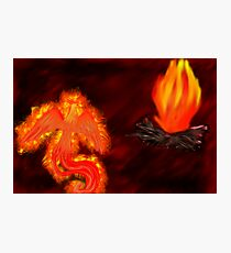 Born of Fire Photographic Print