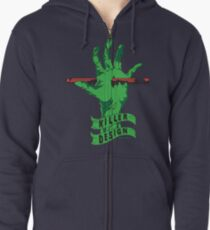 Killer Design - Green Zipped Hoodie