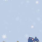 Pengwing Winter by windlyn