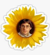 Sunflower Theroux Sticker