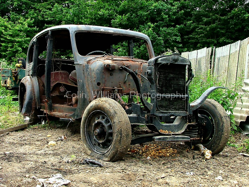 Don`t Buy a Used Car from Fred Flintstone ! by Colin  Williams Photography