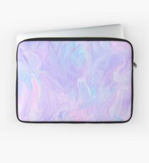 Rosa Holographic Pastell Farbdruck Laptoptasche