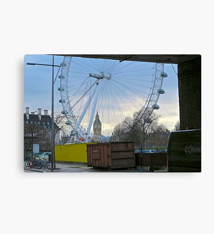 London - another perspective Canvas Print
