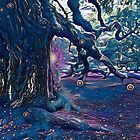 Mystic Portal in the Realm of the Angel Oak Tree by Cindi Hardwicke