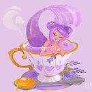 Lavender Tea Mermaid by Julia Blattman