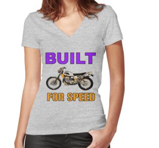 Quot Built For Speed Dirt Bike Quot Stickers By Impactees Redbubble