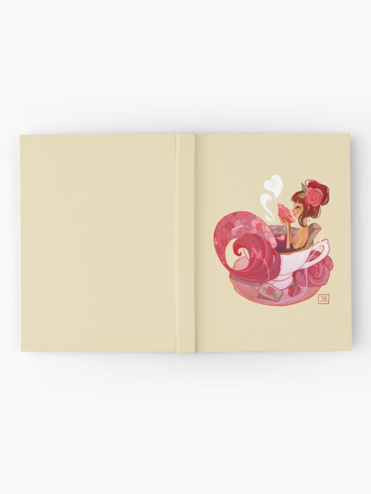 Alternate view of Tea Mermaid Hardcover Journal