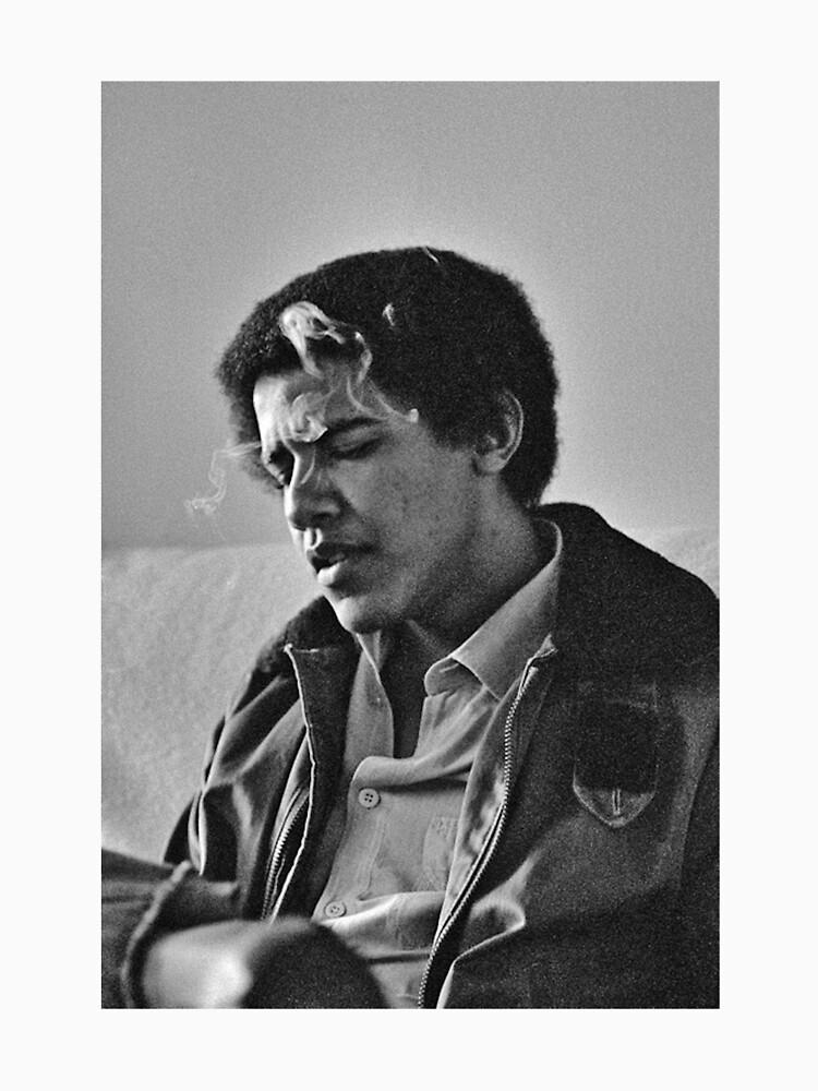 Young Barack Obama - Fumar Imprimir de budgetnudest