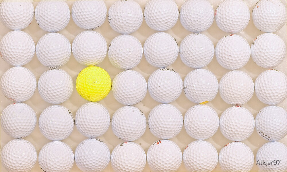 golf balls by Atiger97