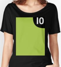 10 Women's Relaxed Fit T-Shirt