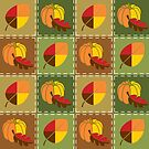 Autumn Quilt by Valerie Hartley Bennett