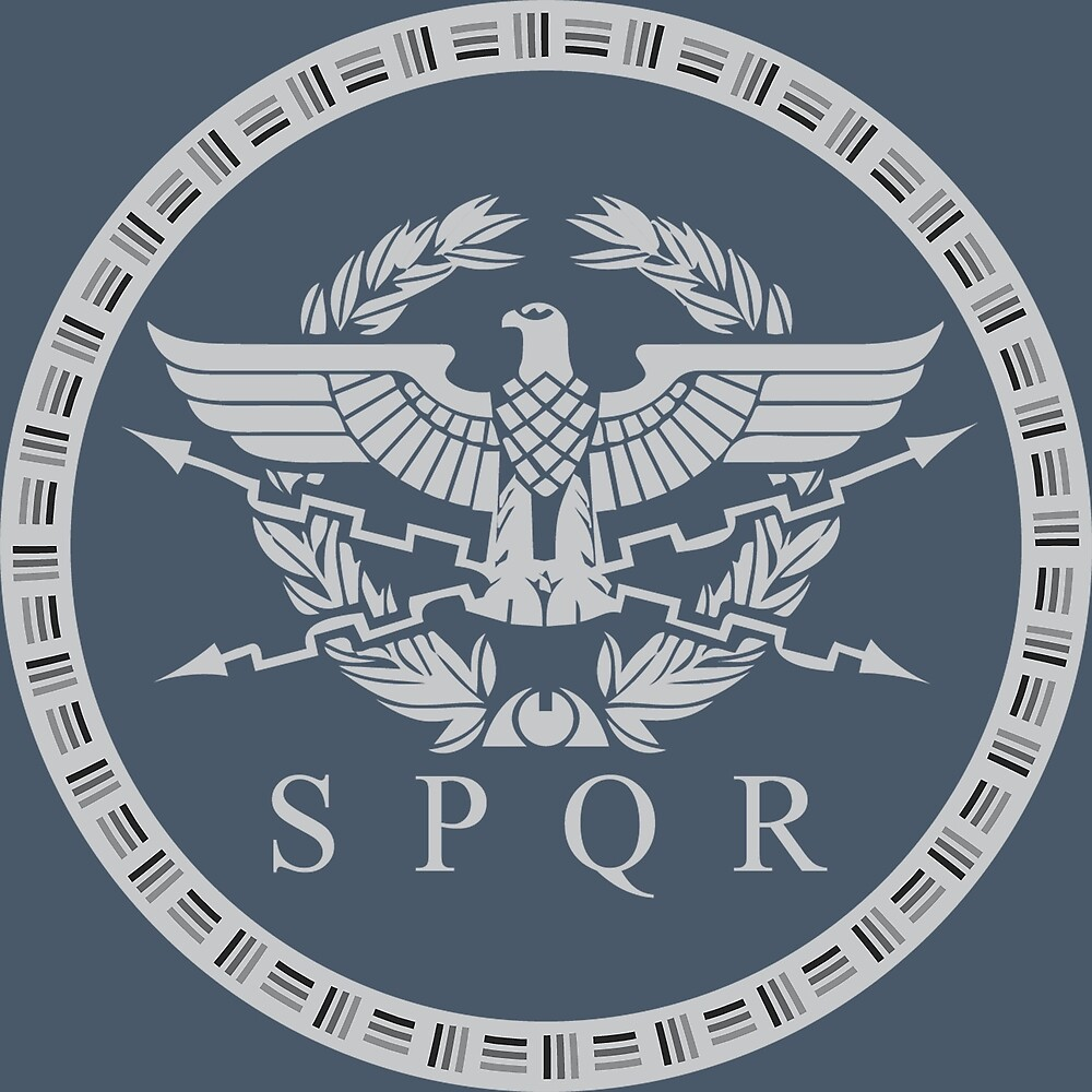Quot The Roman Empire Emblem Quot By Enigmaart Redbubble