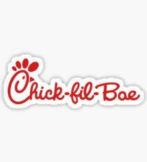 Chick-fil-bae Sticker