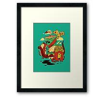 Yumderlizards Framed Print