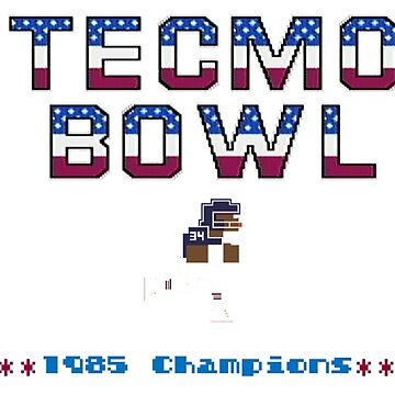 Tecmo Bowl Champs by coltmiller28