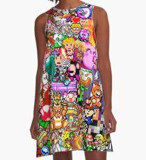 PixelMix A-Line Dress