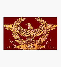 Roman Empire Flag Standard Photographic Print
