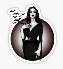 Vampira Sticker