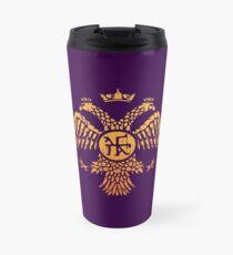 Byzantine Eagle Symbol Flag Travel Mug