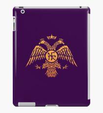 Byzantine Eagle Symbol Flag iPad Case/Skin