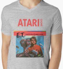 E.T. Atari Men's V-Neck T-Shirt