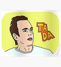 Arrested Development - Gob Bluth - Ta Da Poster
