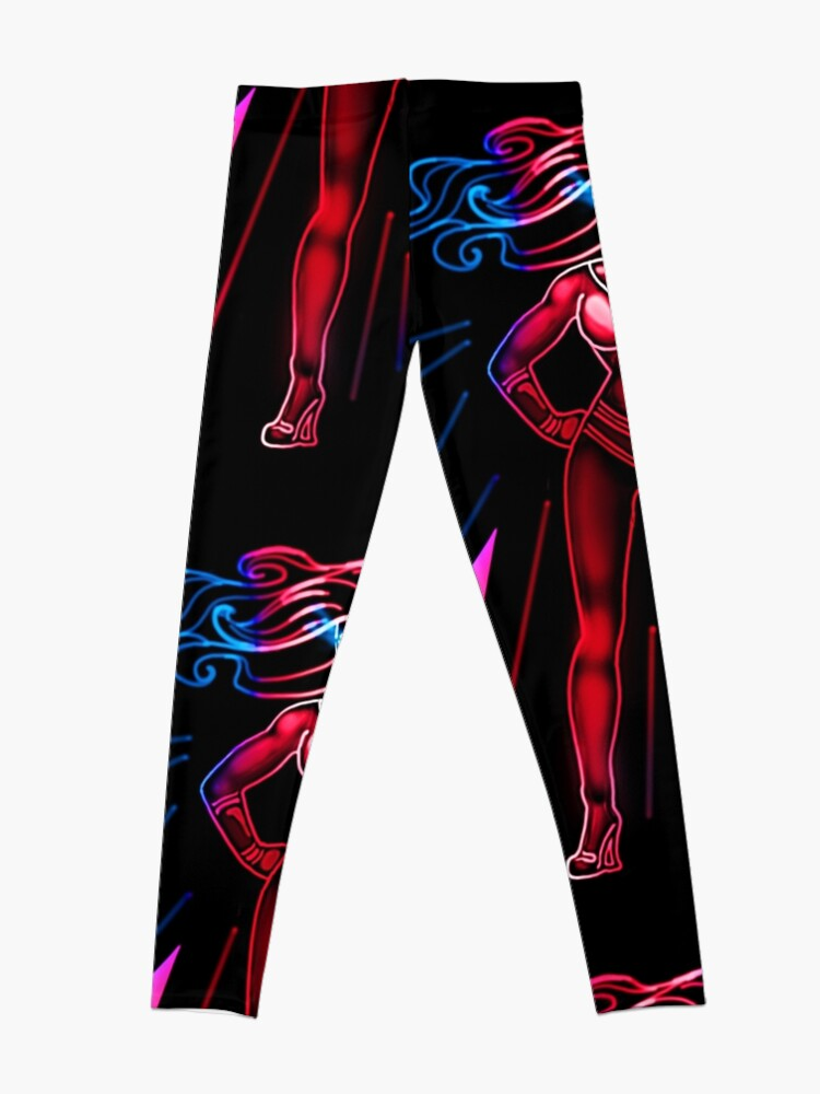Alternate view of Superhero Leggings
