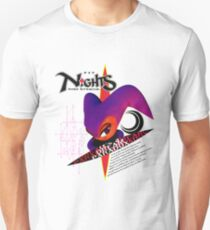 Nights Into Dreams (Japanese Art) Unisex T-Shirt