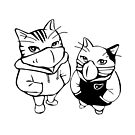 Tough and cool cats! by Sylia