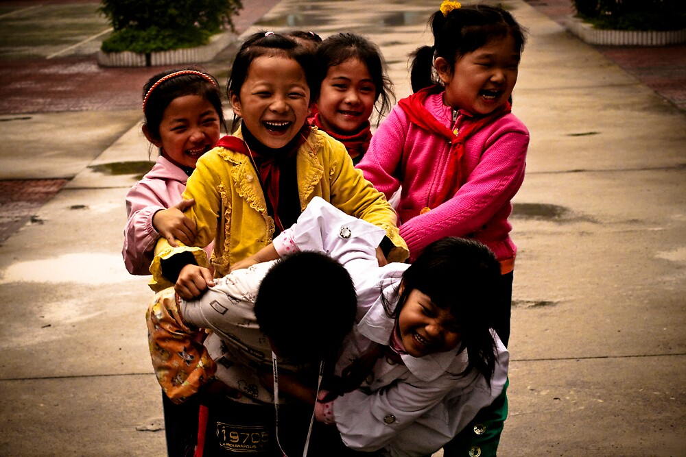 Chinese Kids by Kyle Livingstone