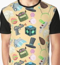 Sci Fi Objects Graphic T-Shirt