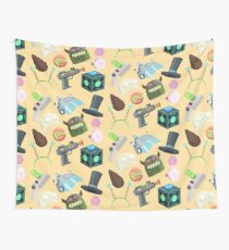 Sci Fi Objects Wall Tapestry