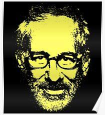 Steven Spielberg Monotone Poster