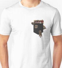 Pocket Raccoons (Black) | Marimkay Unisex T-Shirt