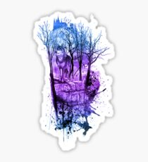 Enchanted Forest Design- Purple Sticker