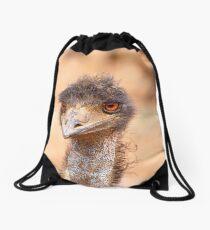 Emu Eyes Drawstring Bag