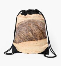 Flat Out Emu Drawstring Bag