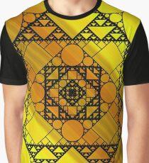 Fractal Geometry Graphic T-Shirt