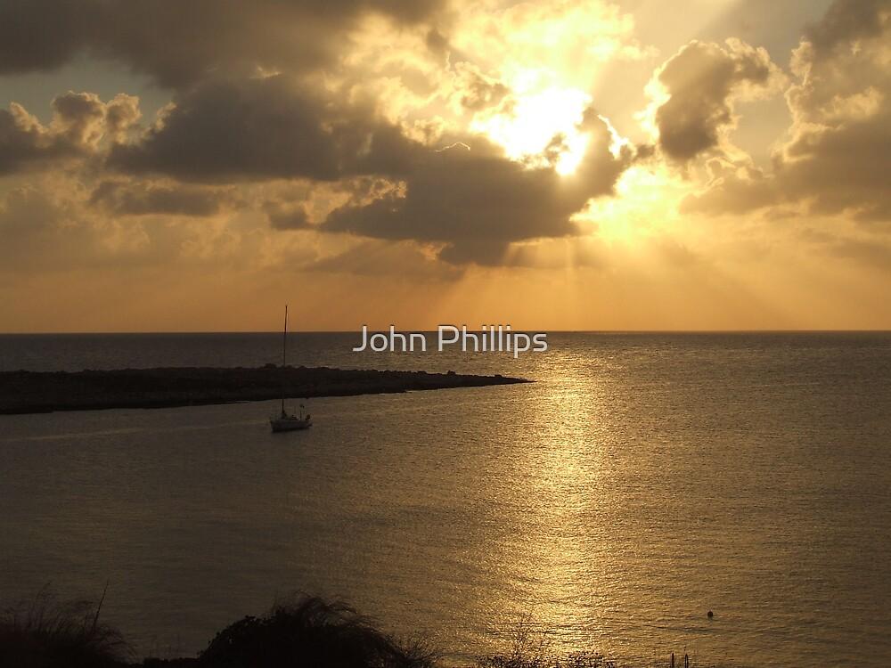 Golden sunrise 1 by John Phillips