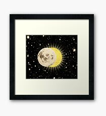Imminent Eclipse Framed Print