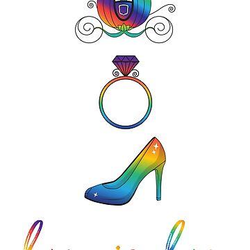 Love is Love - Fairy Tale Wedding Vertical by fairytalelife