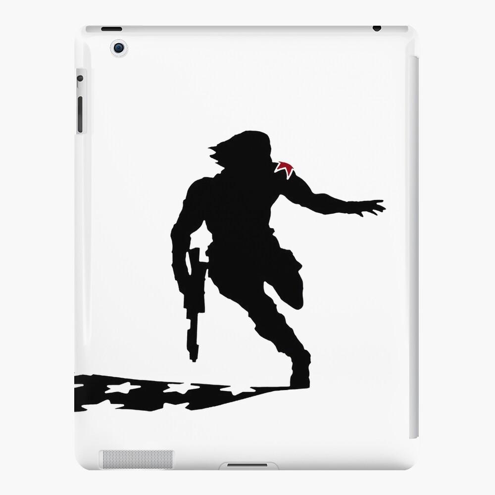 Soldado de Invierno Funda y vinilo para iPad