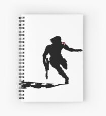 Winter Soldier Spiral Notebook