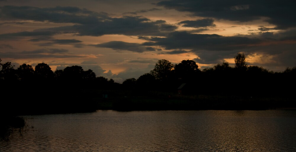 Lake at Sunset Part 4 by Tristan Drinkwater