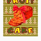 Ugly Christmas Sweater Fruitcake December Holiday by MyHandmadeSigns