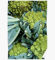 Crazy Broccoli Poster
