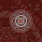 Aries Mandala by Valerie Hartley Bennett