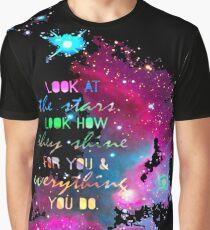 GALAXY STARS Graphic T-Shirt