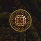 Scorpio Mandala by Valerie Hartley Bennett