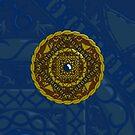 Capricorn Mandala by Valerie Hartley Bennett